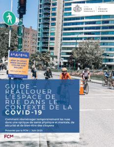 Guide : Réallouer l'espace de rue dans le contexte de la COVID-19